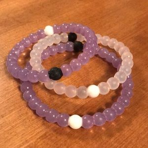 Set of 3 Lokai bracelets